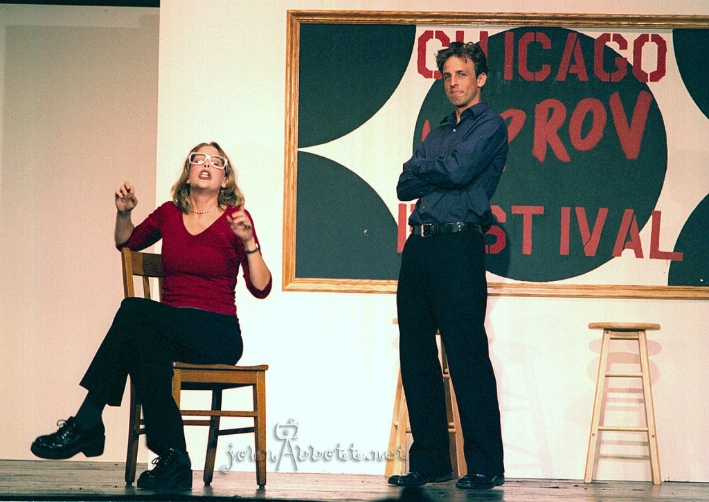 From 2000, Pick-ups & Hiccups, with Jill Benjamin and Seth Meyers